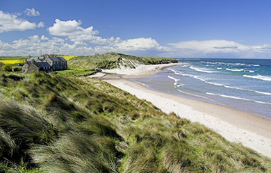 Cottage Map Short Guide To Northumberland